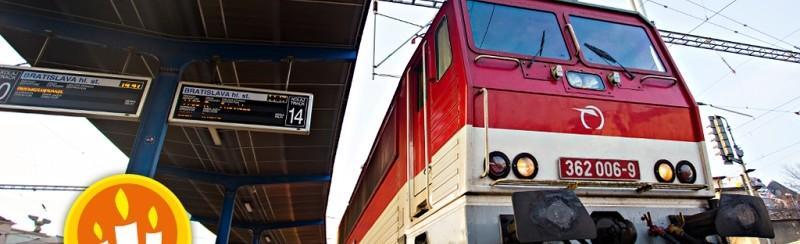 Betlehemské svetlo vlakom